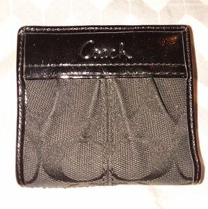 Small Coach wallet